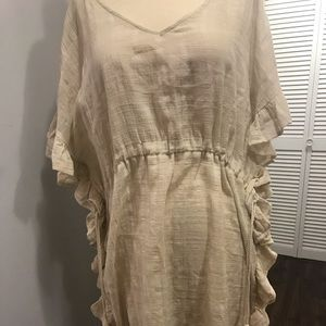 Anthropologie James Coviello  tunic  cover dress